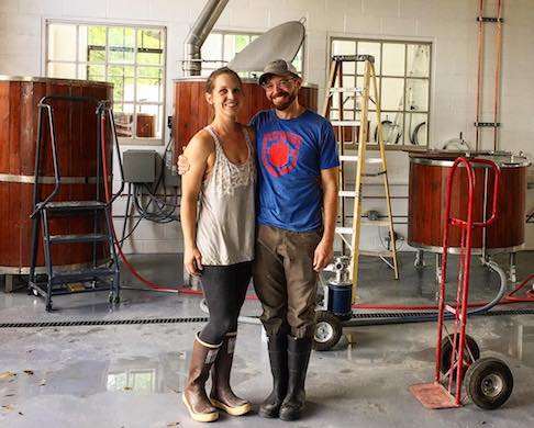 Casey Letellier and Dorothy Hall, Brewers and Owners of Ivory Bill Brewing in Siloam Springs, AR